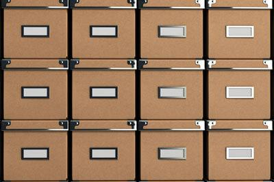 Use the same size of box - self storage unit organization - Self Storage Winnipeg - Winnipeg Self Storage Unit - StorageVille