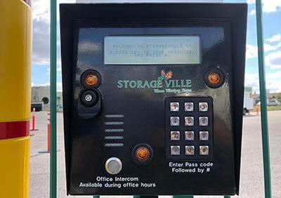 Private pass code protected gate access - Three reasons to rent a summer storage unit in Winnipeg - Winnipeg Storage - StorageVille