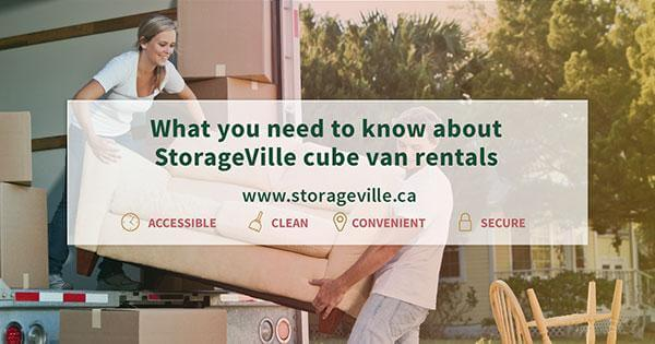 What you need to know about StorageVille cube van rentals - Free Cube Van Rentals - Moving Supplies - Packing Supplies - Storage Units - StorageVille