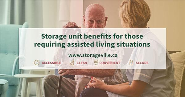 Storage unit benefits for those requiring assisted living situations - Senior Homes - Elderly Homes - Personal Care Homes - Winnipeg Storage Units - Storage Units Winnipeg - StorageVille