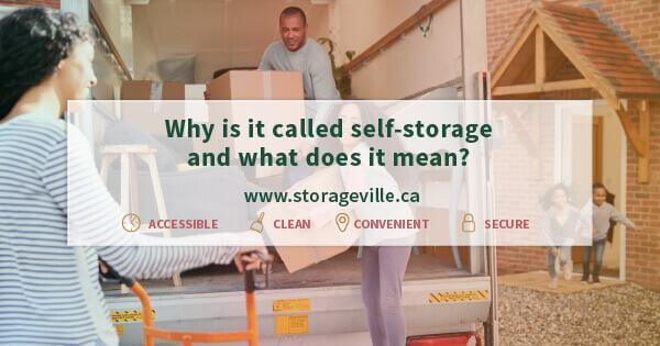 Why is it called self-storage and what does it mean? - Winnipeg Self-Storage - Storage Units Winnipeg - StorageVille