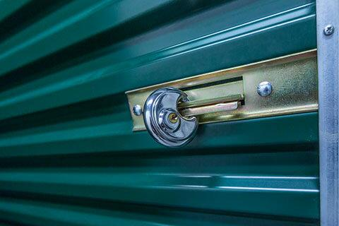 Self-storage unit security with disc locks | StorageVille